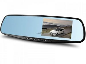 Автомобильный видеорегистратор Vehicle Blackbox DVR Full HD 1080P зеркало Купить