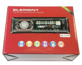 Автомагнитола ELEMENT 6090BT, 1DIN, 4x50W, блютуз, FM, MP3, SD/SDHC карты, USB flash Купить