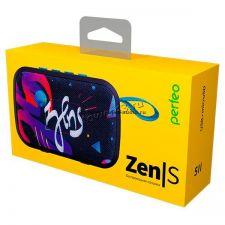 Мобильная колонка-плеер Perfeo ZENS FM, MP3 ,блютуз, AUX,,мощность 5Вт, черная/волны Цены