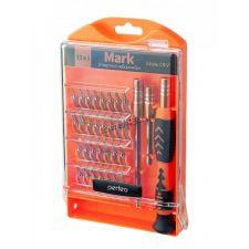 Отвертки для ремонта мелкой техники Perfeo MARK (набор 33 предмета) Купить