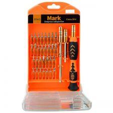 Отвертки для ремонта мелкой техники Perfeo MARK (набор 33 предмета) Цена