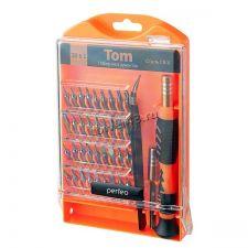 Отвертки для ремонта мелкой техники Perfeo TOM (набор 39 предметов) Купить