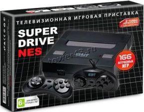 Портативная игровая приставка 16bit Sega Super Drive NES-9V-166 Black box (166 игр в комплекте) Купить