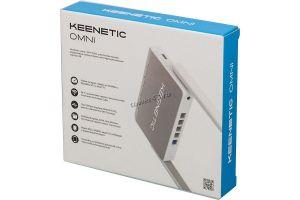Маршрутизатор (роутер) беспроводной Zyxel Keenetic Omni KN-1410, 300mbit/s, поддеp.3G/4G USB модемов Цена