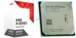 Процессор AMD A10-9700 Socket AM4 3,5-3.8GHz, R7 , L2 2Mb, 4хядерный, 4хпоточный Купить