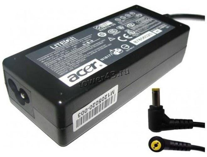 Сетевой адаптер питания для ноутбуков ACER оригинал выход 19В, 3.42A, 65Вт, 3.0мм х 1.0мм