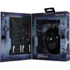 Мышь Defender Syberia GM-680L RGB игровая 7 кнопок, 3200dpi подсветка (чёрный) Цены