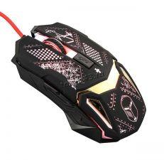 Мышь QUMO Helmet M31 игровая, проводная, оптическая, подсветка, 1200 /1600 /2400 /3200 dpi Купить