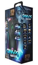 Мышь QUMO Onyx RGB M73, проводная, игровая, 4 кнопки, подсветка RGB, 800 /1200 /1600 /2400dpi Цена