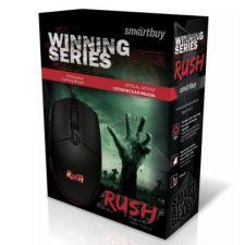 Мышь Smartbuy RUSH Winning SBM-714G, 6 кнопок, 800 /1200 /1600 /2400dpi USB с подсветкой Цена
