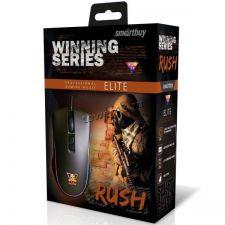 Мышь Smartbuy RUSH Elite SBM-719G, 7 кнопок, 1200 /1600 /2400 /3200dpi USB с подсветкой, черная Цены