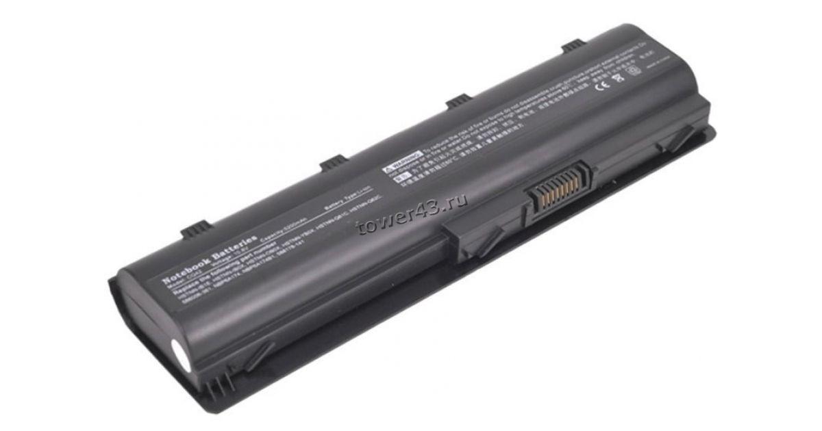 Аккумуляторная батарея для ноутбуков HP (MU06) CQ62, dv6-3000, dv6-6000 10.8V 5200mAh совместимая
