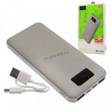 Внешний мобильный аккумулятор MAIMI Mi3 (10000mAh) белый, 2xUSB, microUSB, Type-C, дисплей Купить