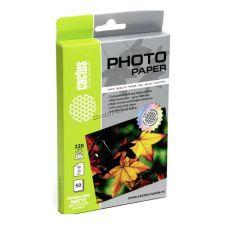 Бумага Фотобумага CACTUS Photo Paper (220гр, 50л., двухстороняя., A4, матовая) Купить