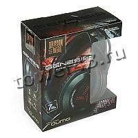 Наушники+Микрофон Qumo Genesis GHS 0012, игровые, подсветка 7цв., USB + 2х3,5 jack, динамики 40мм Цена