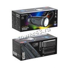 Мобильная колонка-плеер BOROFONE BR7 10Вт Bluetooth 5.0 /USB /MicroSD /фонарь (цвет в ассортименте) Цена