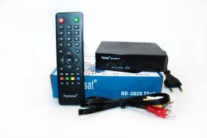 Цифровой ТВ-ресивер DVB-T2 Pantesat HD-3820T2, USB, HDMI, кнопки, дисплей Купить