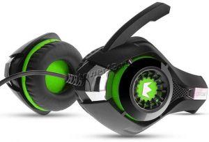 Наушники+микрофон CROWN CMGH-102T USB, встроенная аудио карта, 2.1м, пульт управления (цвет в ассор) Цена