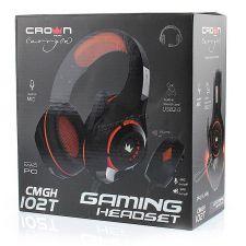 Наушники+микрофон CROWN CMGH-102T USB, встроенная аудио карта, 2.1м, пульт управления (цвет в ассор) Цены