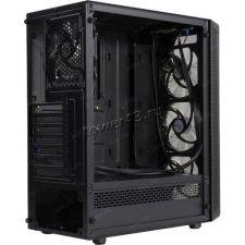 Корпус MidiTower POWERCASE MISTRAL X4 MESH CMIXB-F4 Black, ATX, 2xU2, 1xU3, T.Glass, 4xFan 12см Цена