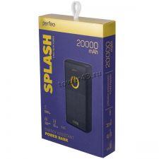 Внешний мобильный аккумулятор PERFEO Splash 2xUSB 20000mAh Цена