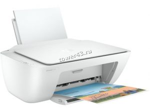 МФУ струйное HP DeskJet 2320 A4, USB, принтер /копир /сканер, 7,5стр/мин, белый Купить