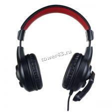 Наушники+микрофон Perfeo STRIKE игровые, шнур 1,8м,  переходник 4рин х 2х3пин Цена