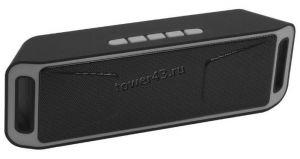 Мобильная колонка-плеер Колонка DREAM DRM-S208-01 6Вт, черный Bluetooth /USB /MicroSD /FM-радио Цена