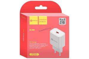 Сетевое зарядное устройство 220В -> USB Type-C DREAM PD10 Power Delivery 3A белый Retail Купить