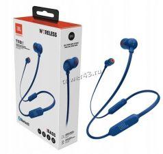 Наушники+микрофон JBL T110BT вставки, беспроводные Цена