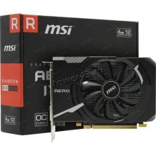 Видеокарта AMD RX 550 4Gb <PCI-E> DDR5 128Bit 1203/7000MHz MSI Aero ITX OC Retail Купить
