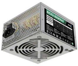 Блок питания Aerocool 600W ATX ECO-600 6+2xPCI-Ex4 +12VA -46A FAN12cm switch RTL Купить