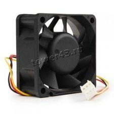 Вентилятор 60х60х25mm 25dBa 4500rpm 3pin Retail Купить