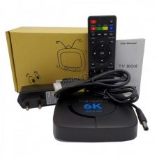 Смарт ТВ приставка Transpeed 6K UltraHD, Wi-Fi 2.4/5Ghz, BT, usb2.0, андр10, 4яд, 4ГбОЗУ, 32Гб Купить