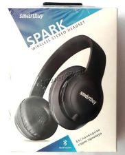 Наушники+микрофон полноразмерные SmartBuy SPARK блютуз беспроводные, microSD, проводной режим Купить