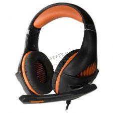 Наушники+микрофон CROWN MICRO CMGH-20 рег. грмкости, кабель 3.2м, мягкие амбушуры, адаптер на 4пин Купить