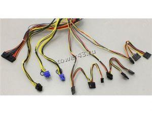 Блок питания EXEGATE 700W 700PPE, APFC, 12cm, 24+4pin, 2*(6+2)pin PCI-E, 5*SATA, 3*MOLEX, +12V -70A Цена