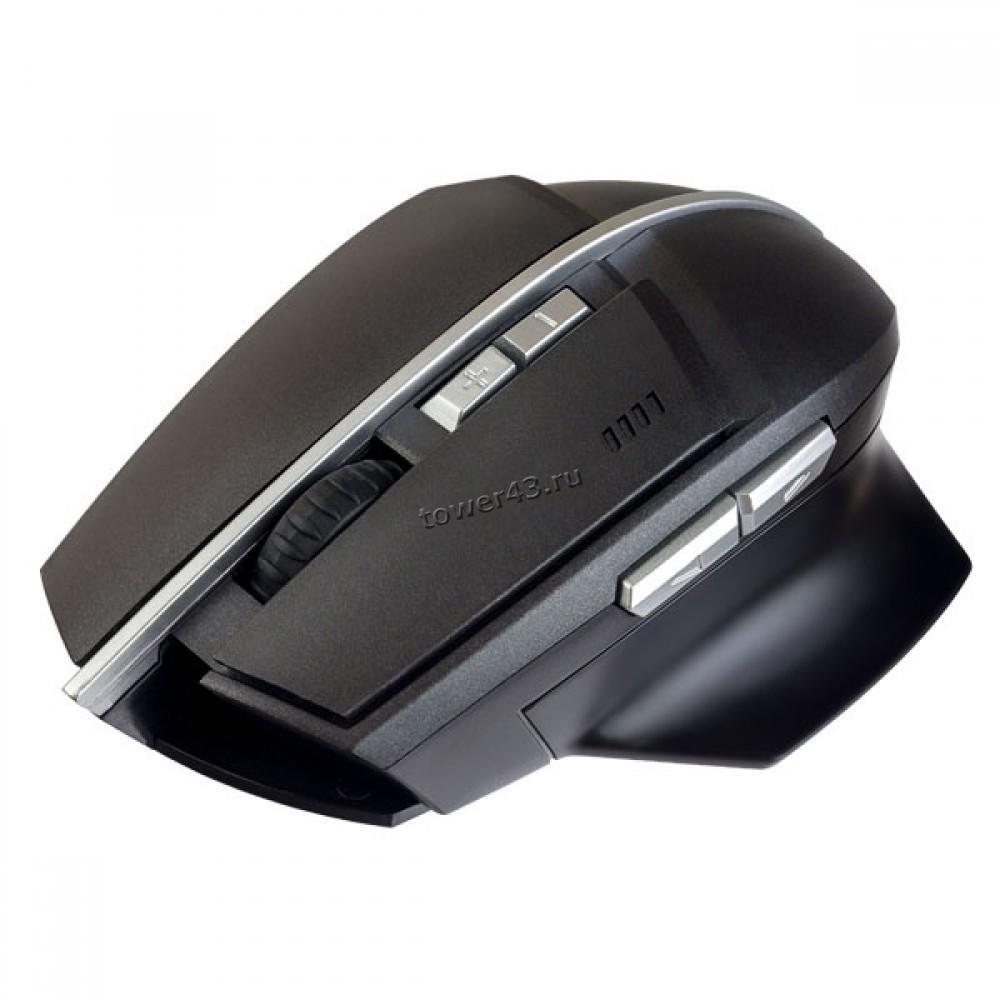 Мышь Perfeo CONCEPT GAME беспроводная, 800 /1200 /1600dpi, 7 кнопок, черная