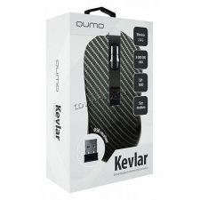 Мышь QUMO Office M26 Kevlar, 800/1200/1600dpi, беспроводная, 4 кнопки Цена