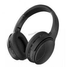 Наушники+микрофон полноразмерные Perfeo ELLIPSE, MP3 плеер, AUX, до10ч, FM, проводной режим, черные Купить