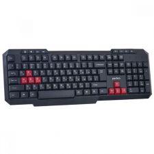 Клавиатура PERFEO COMMANDER, USB, проводная, шнур 1.5м, цвет черный Купить