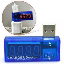 Измеритель тока и напряжения Charger Doctor (3,5-10V, 0-3A) Купить