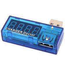 Измеритель тока и напряжения Charger Doctor (3,5-10V, 0-3A) Цена