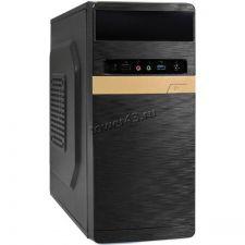 Корпус MidiTower EXEGATE BAA-105U, ATX, блок пит 450Вт, USB2.0, USB3.0, Audio черный Купить