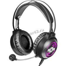 Наушники+микрофон Defender Stellar PRO, USB, с рег громкости, 50мм, 7цв.подсветка, звук 7.1 Купить