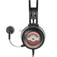 Наушники+микрофон Defender Stellar PRO, USB, с рег громкости, 50мм, 7цв.подсветка, звук 7.1 Цена