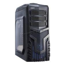 Корпус MidiTower EXEGATE EVO-8203N-Blue Black, ATX, NoPSU, 2xU2, 1xU3, 1xLED Fan 120mm, 1xFan 120mm Купить
