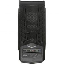 Корпус MidiTower EXEGATE EVO-8203N-Blue Black, ATX, NoPSU, 2xU2, 1xU3, 1xLED Fan 120mm, 1xFan 120mm Цена