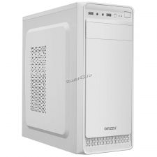 Корпус MidiTower GINZZU C195 White, ATX, NoPSU, 2xU2 без БП Купить
