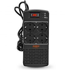 Стабилизатор напряжения EXEGATE Power AD5000-500 (500VA/300W, диапазон 150...280В, 4 евророзетки) Цена